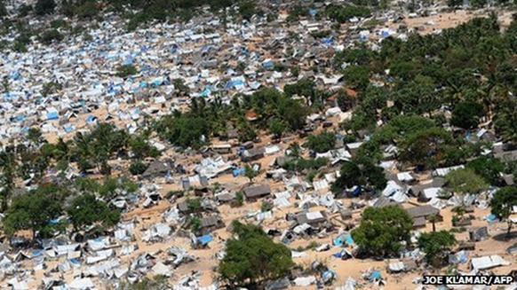 Hundreds of thousands of Tamil civilians were caught in the war zone