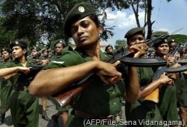 Sri Lankan army has nearly 4,000 women soldiers (AFP/File, Sena Vidanagama)