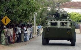 The Tamil National Alliance lawmaker for the Jaffna district accused security forces of triggering the unrest (AFP/File, Lakruwan Wanniarachchi)