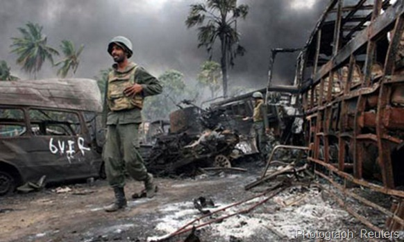 The leaked UN report says the organisation's Sri Lanka mission was too inexperienced and subject to government intimidation during the brutal culmination of the civil war. Photograph: Reuters