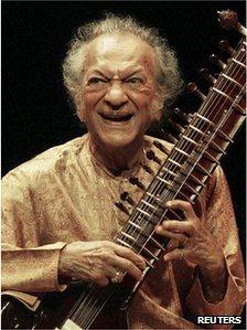 Ravi Shankar had a huge influence on Western popular music