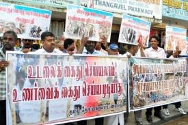 Jaffna is at the heartland of the area formerly run by the Tamil Tiger separatist group (AFP, Str)