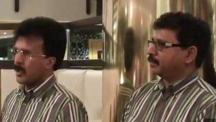 Srinivasa Rao Thangavelu [left] and Gnansekaran Rajasekaran
