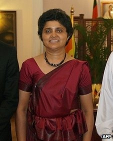 Shirani Bandaranayake has said she believes she and her family are in danger