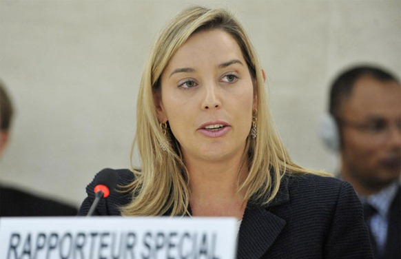 Gabriela Knaul, UN Special Rapporteur on the independence of judges and lawyers