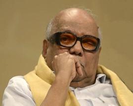 DMK president M. Karunanidhi. File photo Hindu