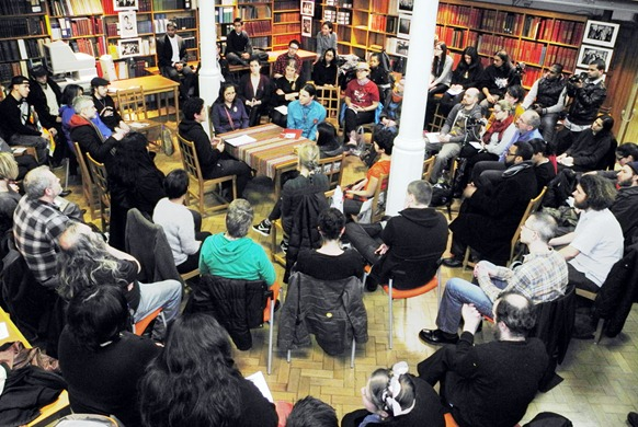 Teach-in session in London by Sylvia McAdam Saysewahum, the Co-founder of the popular Idle No More movement from Canada