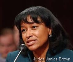 Judge Janice Brown