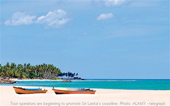 Tour operators are beginning to promote Sri Lanka's coastline  Photo: ALAMY - telegraph