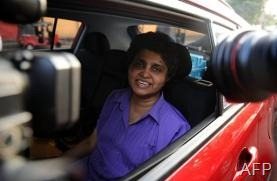 Sri Lanka's impeached Chief Justice Shirani Bandaranayake, pictured in Colombo, on January 15, 2013 (AFP/File, Ishara S.Kodikara)