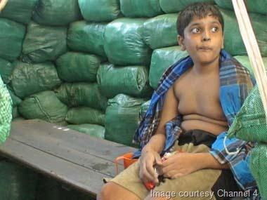 Prabhakaran Son Balachandran - Image courtesy Channel 4.