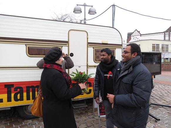 """Tamil Van"" in Hanover , Germany"