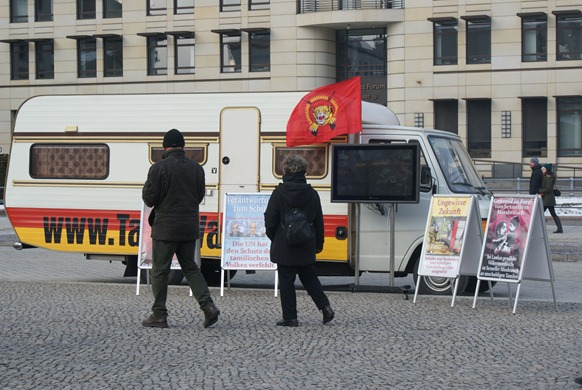 """Tamil Van"" in Berlin, Germany"