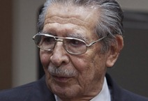 Former dictator Efraín Ríos Montt
