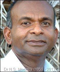 Dr N.S. Moorthy (1951 - 2013)