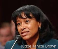 Judge Janice Brown