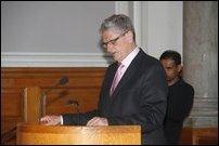Mogens Lykketoft, Speaker of Denmark Parliament