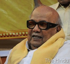The Hindu DMK party chief M. Karunanidhi. File photo: M. Vedhan