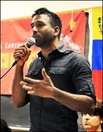 Krisna Saravanamuttu from Coalition for Tamil Rights
