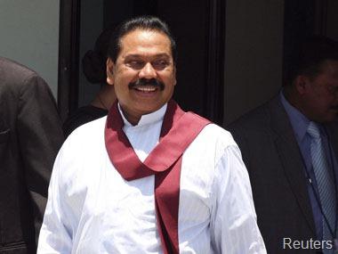 Mahinda Rajapaksa. Reuters