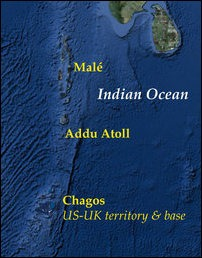 India, Sri Lanka, Maldives and Chagos [Image courtesy: Google Earth]