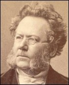 Photograph of Norwegian playwright Henrik Ibsen (1828-1906) [Photo courtesy: National Library, Oslo]