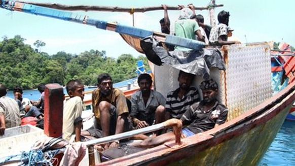 Thousands of Sri Lankans have tried to flee their country in recent years