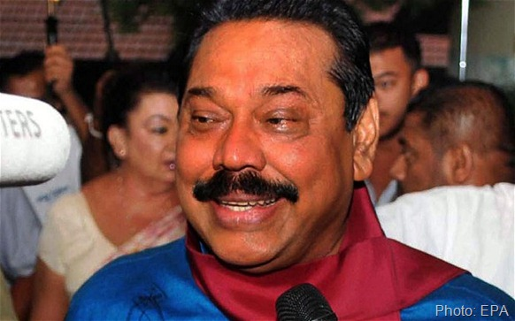 Despite assurances from Mr Rajapaksa, pictured, suspicions of a politically-motivated cover-up to protect a key supporter have grown Photo: EPA