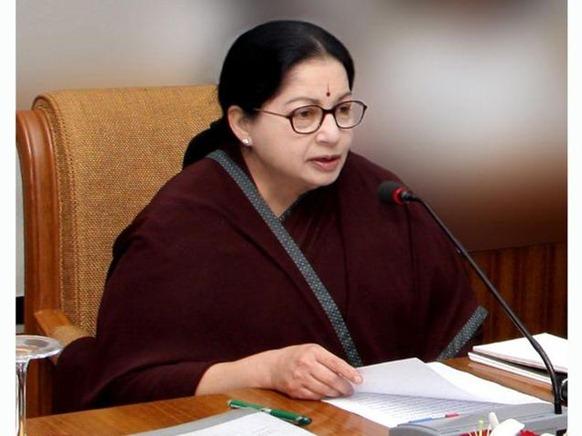 DIPR A file photo of Tamil Nadu Chief Minister Jayalalithaa.