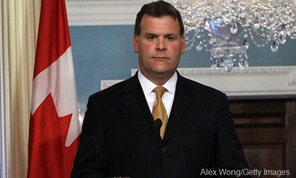 John Baird, Canada's foreign minister, said he was stunned that Colombo was not facing censure for its behaviour. Photograph: Alex Wong/Getty Images
