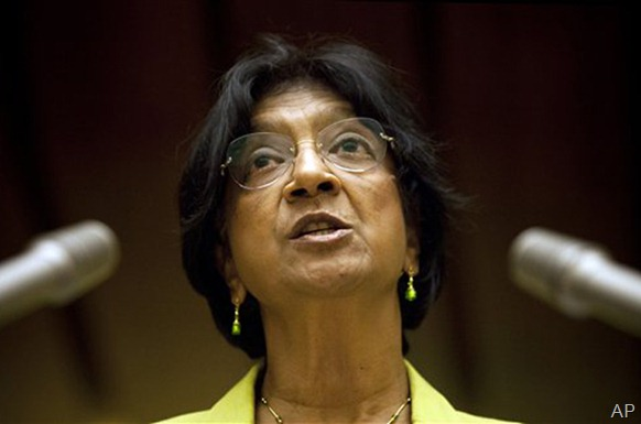 Pillay has been strongly critical of the Sri Lankan government [AP]