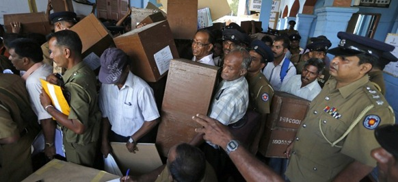 Sri Lanka Election - Image courtesy USA Herald