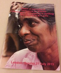 Report on Seminar on War Widows by Centre for Community Development: 'Challenges and Prospects in Uplifting War Widows in Sri Lanka'