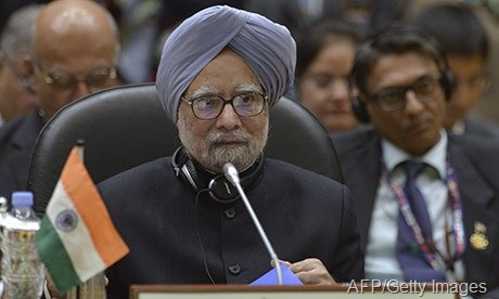 Manmohan Singh's failure to attend the summit would be a huge blow to the credibility of the Commonwealth. Photograph: Philippe Lopez/AFP/Getty Images