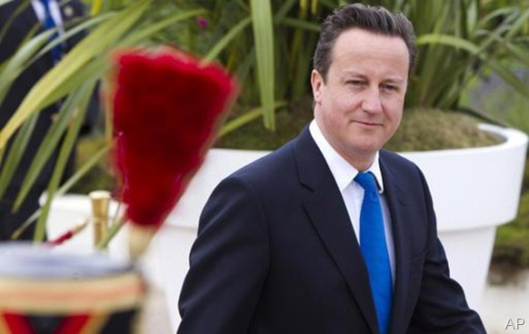 UK Prime Minister David Cameron - ap