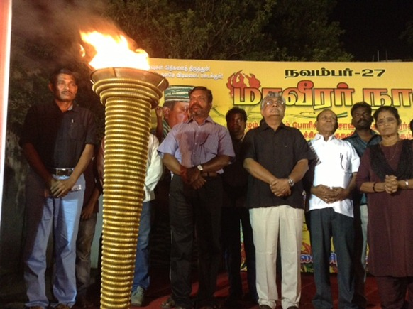 Viduthalai Chiruththaika'l Kadchi (VCK) held a two-day event in Chennai, covering LTTE leader V. Pirapharan's birth day and the Maaveerar Day.