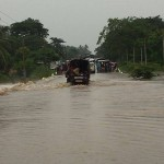 Uprooted Champoor people stranded by heavy rains